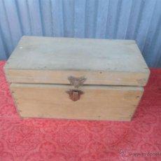 Antigüedades: CAJA MADERA. Lote 40861293