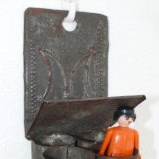 Antigüedades: RARO ARTICULO RELIGIOSO M DE MARIA ANTIGUO TIPO BENDITERA PARED A A M. Lote 40868170