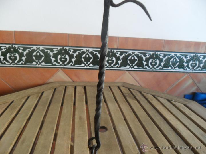 Antigüedades: ANTIGUO QUINQUE CANDIL DE ACEITE - Foto 6 - 40881590