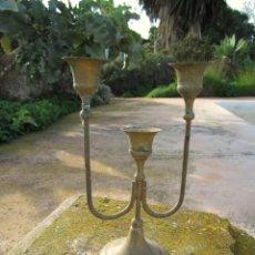 Antiquitäten - Portavelas de 3 velas - 40890296