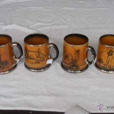 Antigüedades: 5 JARRAS ROYAL BRADWELL, ARTHUR WOOD. Lote 40911144