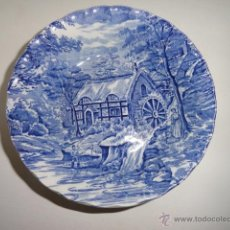 Antigüedades: PLATO PEQUEÑO HONDO THE MILL BY ALFRED MEAKIN, PORCELANA INGLESA. Lote 40938344