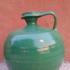 Antigüedades: ANTIGUO CANTARO VIDRIADO DE TRIANA. Lote 40943718