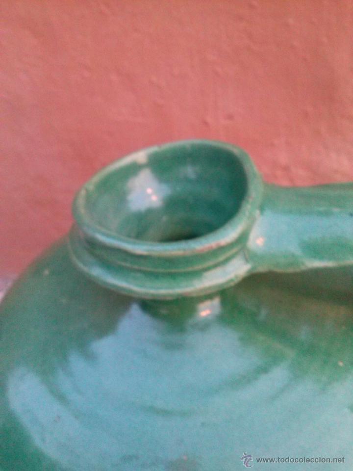 Antigüedades: antiguo cantaro vidriado de triana - Foto 2 - 40943718