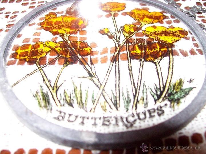 Antigüedades: Colgate Pub ingles Buttercups 10 cm diametro - Foto 2 - 40945875