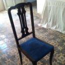 Antigüedades: PAREJA DE SILLAS. Lote 40964174