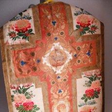 Antigüedades: CASULLA ESPOLIN SIGLO XIX. Lote 100551118