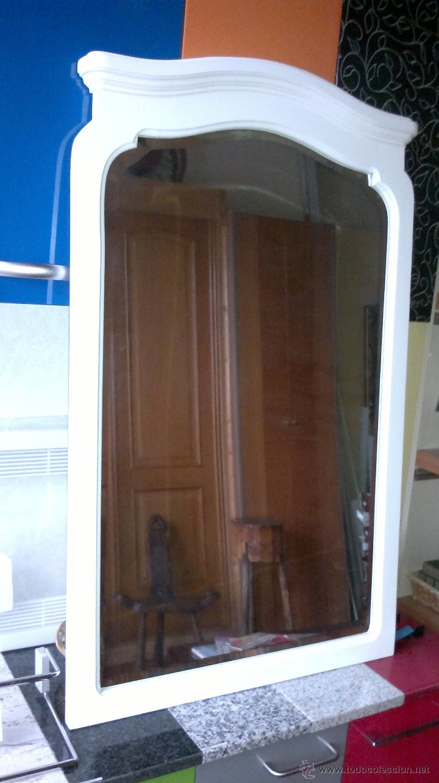 Antigüedades: Espejo Antiguo Restaurado - Foto 2 - 40967267