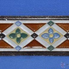 Antigüedades: PIEZA DE CENEFA DE AZULEJO.. Lote 40976172