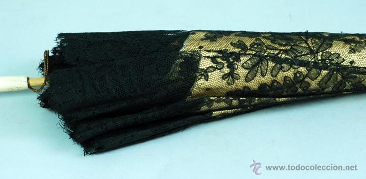 Antiques: Sombrilla en hueso seda y encaje S XIX - Foto 5 - 41007453