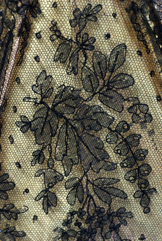 Antiques: Sombrilla en hueso seda y encaje S XIX - Foto 9 - 41007453