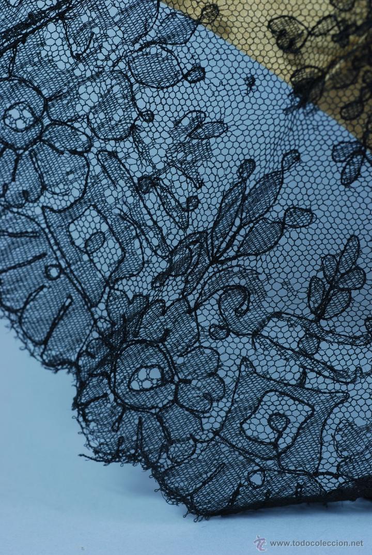 Antiques: Sombrilla en hueso seda y encaje S XIX - Foto 10 - 41007453