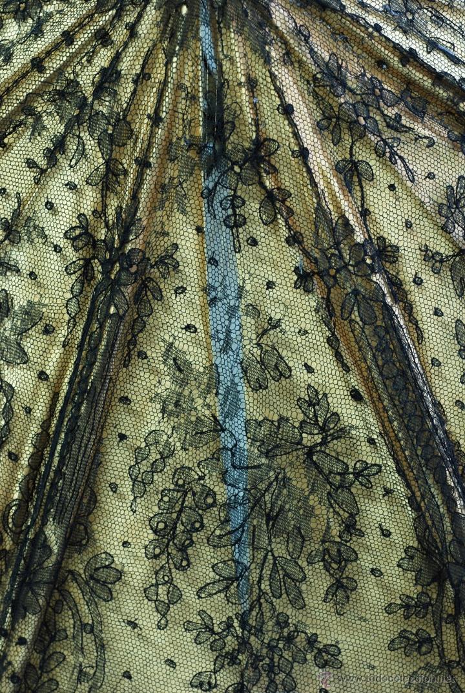 Antiques: Sombrilla en hueso seda y encaje S XIX - Foto 11 - 41007453