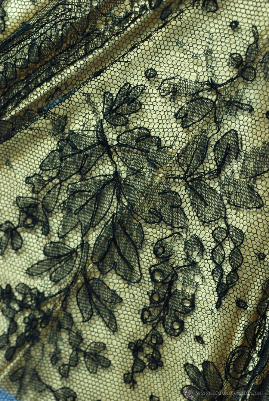 Antiques: Sombrilla en hueso seda y encaje S XIX - Foto 12 - 41007453
