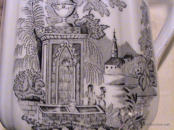 Antigüedades: Juego de jarras para café o té de porcelana Santa Clara. Colección OLD ENGLAND. - Foto 2 - 41013667