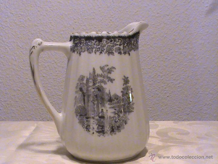 Antigüedades: Juego de jarras para café o té de porcelana Santa Clara. Colección OLD ENGLAND. - Foto 5 - 41013667