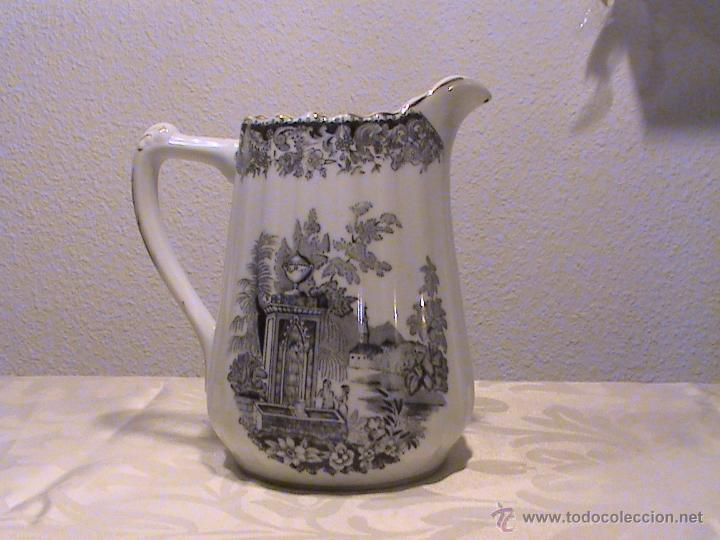 Antigüedades: Juego de jarras para café o té de porcelana Santa Clara. Colección OLD ENGLAND. - Foto 7 - 41013667