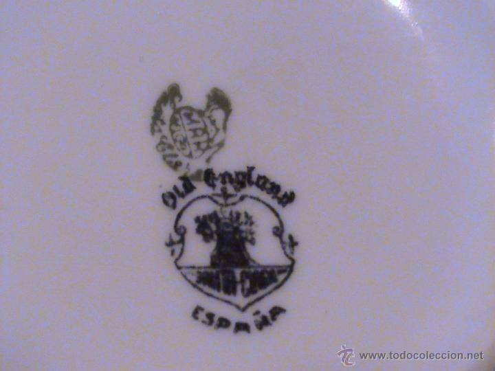 Antigüedades: Juego de jarras para café o té de porcelana Santa Clara. Colección OLD ENGLAND. - Foto 8 - 41013667