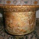 Antigüedades: JARDINERA DE BRONCE. Lote 41023937