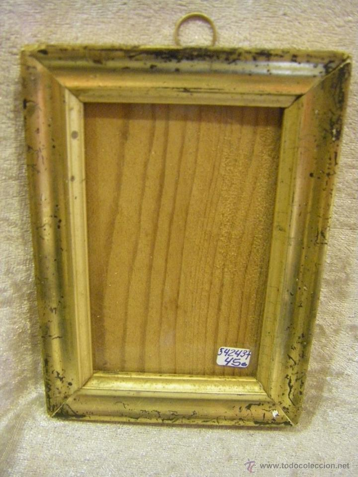 marco de madera plata corlada siglo xix - Comprar Marcos Antiguos de ...