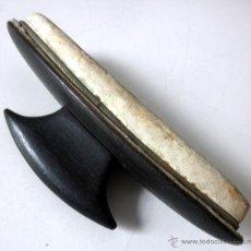 Antigüedades: PULIDOR DE UÑAS * LUSTRADOR * ABRILLANTADOR * EBANO. Lote 41029281