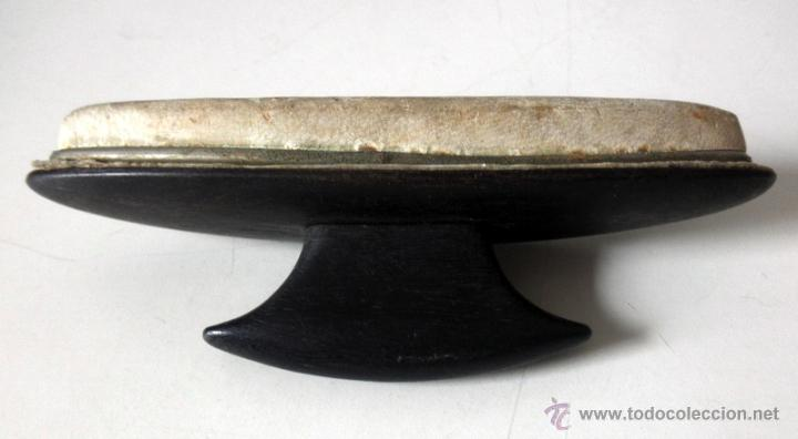 Antigüedades: PULIDOR DE UÑAS * LUSTRADOR * ABRILLANTADOR * EBANO - Foto 2 - 41029281