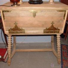 Antigüedades: ANTIGUO MUEBLE ESCRITORIO. Lote 41036801
