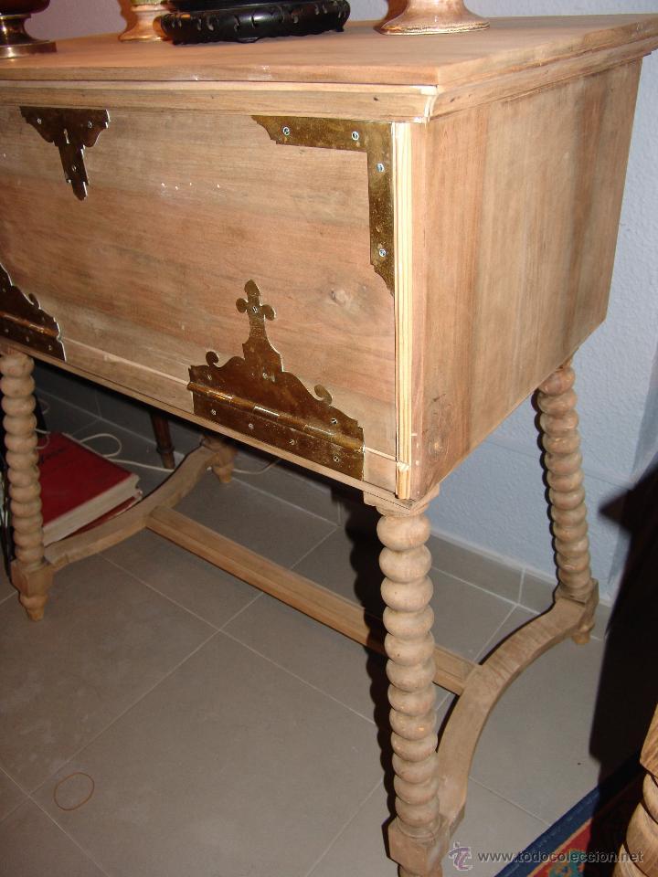 Antigüedades: ANTIGUO MUEBLE ESCRITORIO - Foto 4 - 41036801