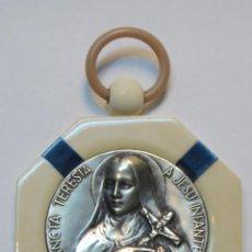 Antiquitäten - Antigua medalla de cuna con marco de baquelita Art Déco - 41040686