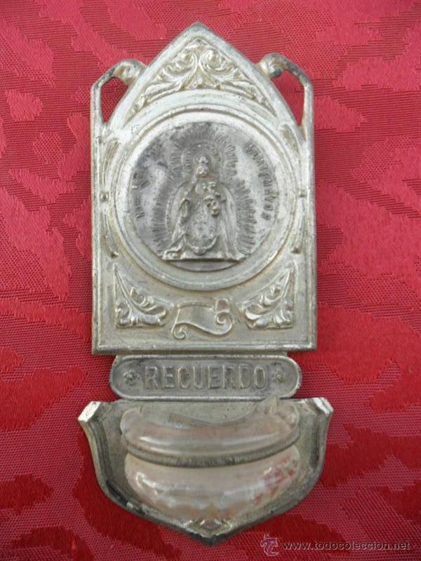 PEQUEÑA BENDITERA (Antigüedades - Religiosas - Benditeras)
