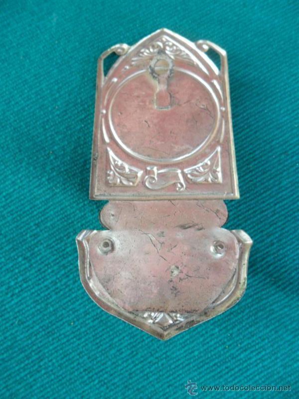 Antigüedades: pequeña benditera - Foto 2 - 41045660