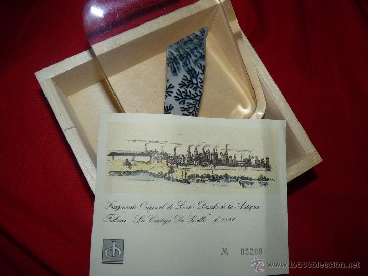 Antigüedades: PRECIOSO RESTO DE CERÁMICA PICKMAN EDICIÓN LIMITADA CERTIFICADO - Foto 6 - 41045725