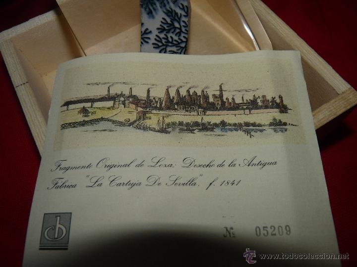 Antigüedades: PRECIOSO RESTO DE CERÁMICA PICKMAN EDICIÓN LIMITADA CERTIFICADO - Foto 8 - 41045725