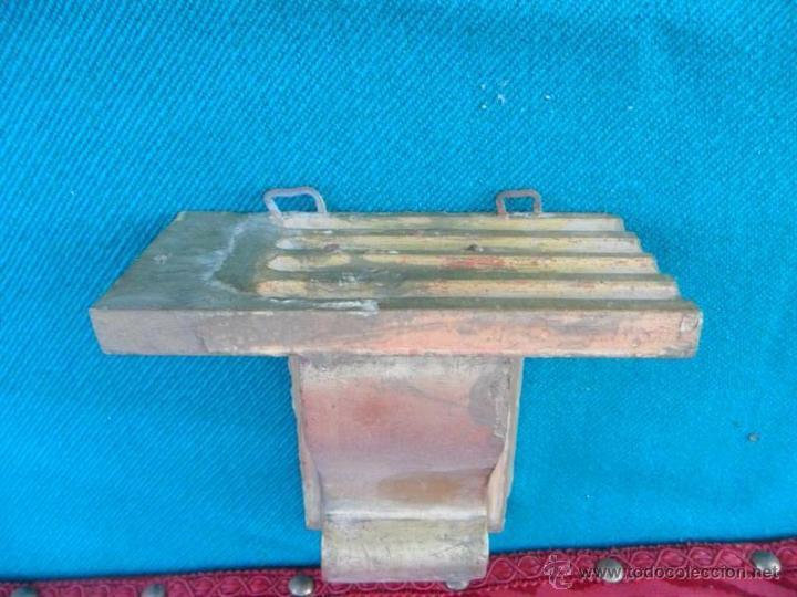Antigüedades: mensula dorada - Foto 2 - 41045859