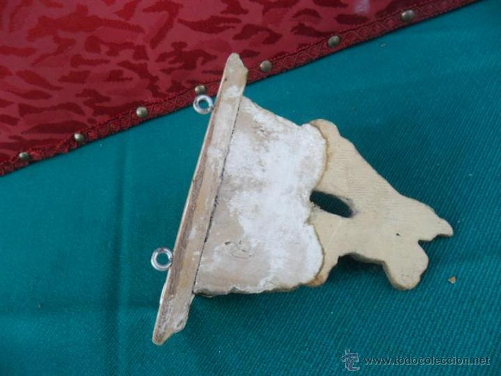 Antigüedades: mensula dorada - Foto 4 - 41046286
