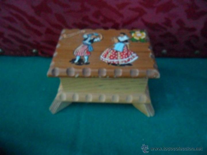 CAJA MADERA (Antigüedades - Hogar y Decoración - Cajas Antiguas)
