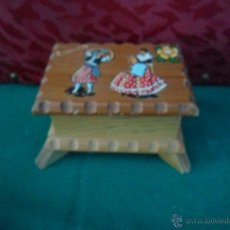 Antigüedades: CAJA MADERA. Lote 41051618
