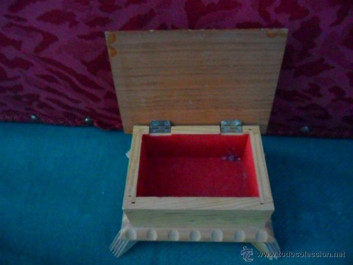 Antigüedades: caja madera - Foto 2 - 41051618