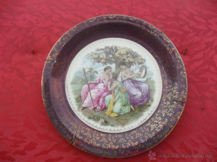 PLATO DE SANTA CLARA (Antigüedades - Porcelanas y Cerámicas - Santa Clara)