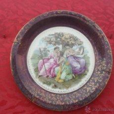 Antigüedades: PLATO DE SANTA CLARA. Lote 41051979