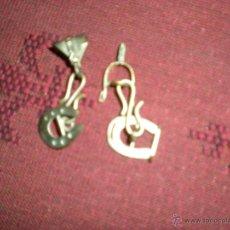 Antigüedades: GEMELOS DE PLATA DE MONTERIA. Lote 41071596