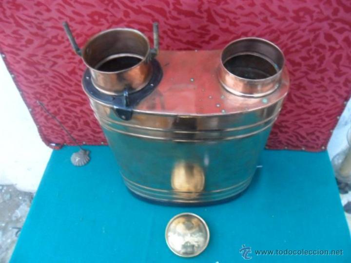 Antigüedades: fulmigador en cobre antiguo - Foto 2 - 41073672