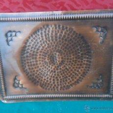 Antigüedades: BANDEJA DE COBRE. Lote 41073719