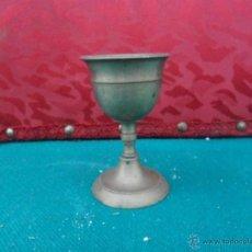 Antigüedades: COPA DE METAL ANTIGUA. Lote 41075901