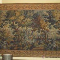 Antiques - Fantástico tapiz de grandes dimensiones con motivo de bosque romántico - 41127961
