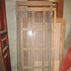 Antigüedades: PAREJA DE SOMIER ANTIGUOS CON SOPORTE DE MADERA.. Lote 41129444