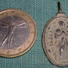 Antigüedades: MEDALLA DE INMACULADA Y SAN ISIDORO. Lote 41131037