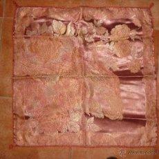 Antigüedades: ANTIGUO TAPETE DE SEDA. Lote 41134393