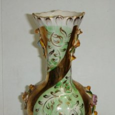 Antigüedades: JARRON DE PORCELANA PORTUGUESA. PEREIRAS VALADO - PORTUGAL (CON SELLO). Lote 41139660