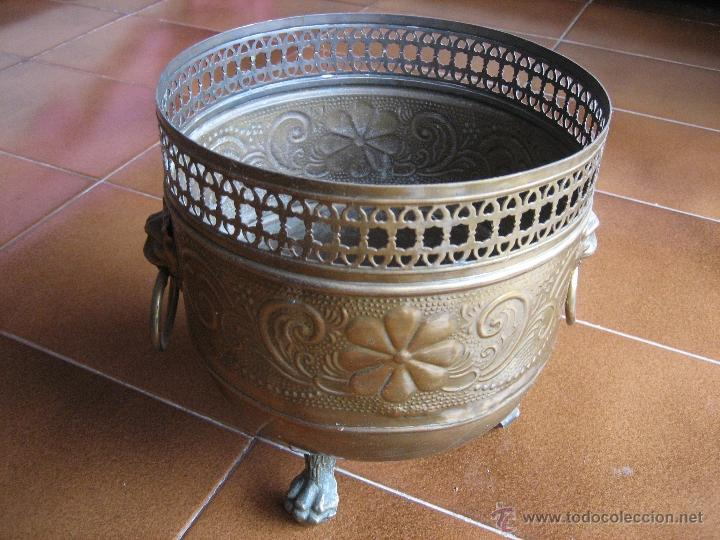 Antigüedades: centro de mesa de laton - Foto 2 - 41143837